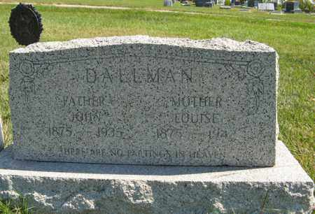 DALLMAN, JOHN - Cedar County, Nebraska | JOHN DALLMAN - Nebraska Gravestone Photos