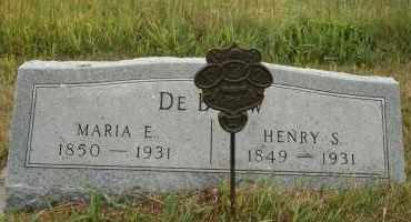 DEBOW, HENRY S - Cedar County, Nebraska   HENRY S DEBOW - Nebraska Gravestone Photos