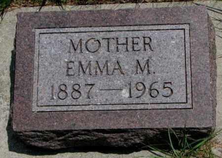 DELANCE, EMMA M. - Cedar County, Nebraska   EMMA M. DELANCE - Nebraska Gravestone Photos