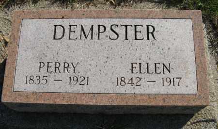 DEMPSTER, PERRY - Cedar County, Nebraska | PERRY DEMPSTER - Nebraska Gravestone Photos