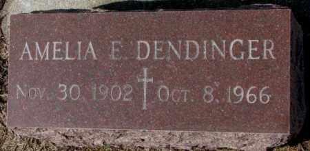 DENDINGER, AMELIA E. - Cedar County, Nebraska | AMELIA E. DENDINGER - Nebraska Gravestone Photos