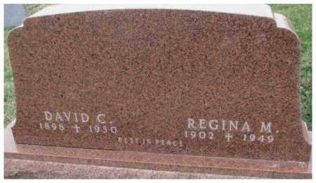 DENDINGER, REGINA M. - Cedar County, Nebraska | REGINA M. DENDINGER - Nebraska Gravestone Photos