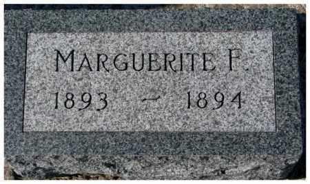 DENDINGER, MARGUERITE F. - Cedar County, Nebraska | MARGUERITE F. DENDINGER - Nebraska Gravestone Photos