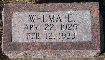 DENDINGER, WELMA E. - Cedar County, Nebraska | WELMA E. DENDINGER - Nebraska Gravestone Photos