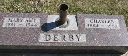 DERBY, MARY AMY - Cedar County, Nebraska | MARY AMY DERBY - Nebraska Gravestone Photos