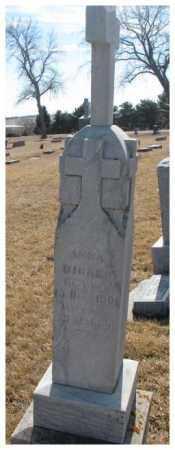 DICKES, ANNA - Cedar County, Nebraska | ANNA DICKES - Nebraska Gravestone Photos