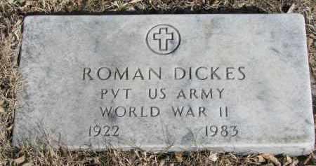 DICKES, ROMAN - Cedar County, Nebraska | ROMAN DICKES - Nebraska Gravestone Photos