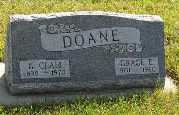 DOANE, G. CLAIR - Cedar County, Nebraska | G. CLAIR DOANE - Nebraska Gravestone Photos
