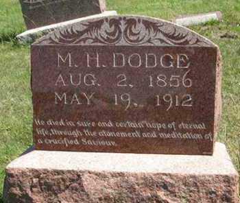 DODGE, M. H. - Cedar County, Nebraska | M. H. DODGE - Nebraska Gravestone Photos
