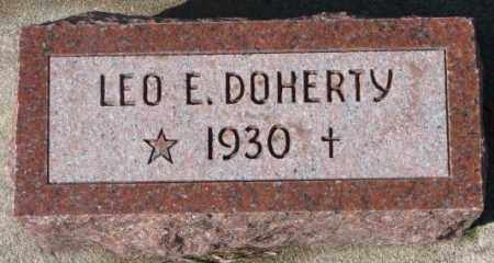 DOHERTY, LEO E. - Cedar County, Nebraska | LEO E. DOHERTY - Nebraska Gravestone Photos