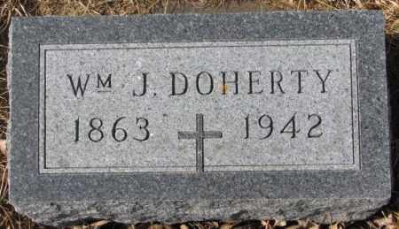 DOHERTY, WM. J. - Cedar County, Nebraska | WM. J. DOHERTY - Nebraska Gravestone Photos