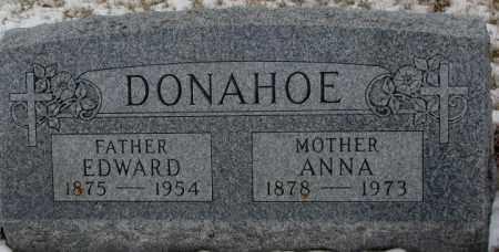 DONAHOE, EDWARD - Cedar County, Nebraska   EDWARD DONAHOE - Nebraska Gravestone Photos