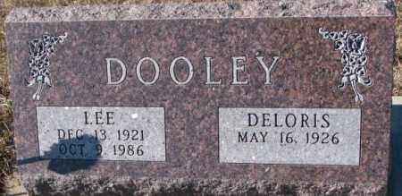 DOOLEY, DELORIS - Cedar County, Nebraska | DELORIS DOOLEY - Nebraska Gravestone Photos