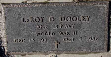 DOOLEY, LEROY D. ( WW II) - Cedar County, Nebraska | LEROY D. ( WW II) DOOLEY - Nebraska Gravestone Photos