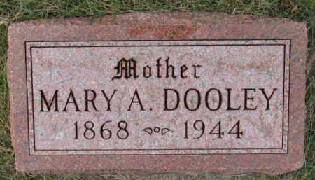 DOOLEY, MARY A. - Cedar County, Nebraska   MARY A. DOOLEY - Nebraska Gravestone Photos