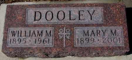 DOOLEY, WILLIAM M. - Cedar County, Nebraska | WILLIAM M. DOOLEY - Nebraska Gravestone Photos