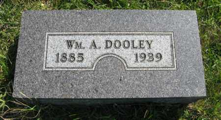 DOOLEY, WM. A. - Cedar County, Nebraska | WM. A. DOOLEY - Nebraska Gravestone Photos