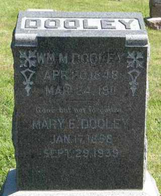 DOOLEY, MARY E. - Cedar County, Nebraska | MARY E. DOOLEY - Nebraska Gravestone Photos