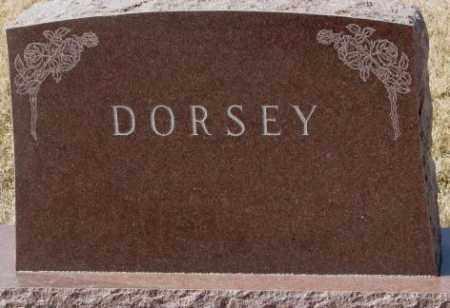 DORSEY, PLOT - Cedar County, Nebraska | PLOT DORSEY - Nebraska Gravestone Photos