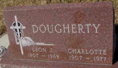 DOUGHERTY, LEON J. - Cedar County, Nebraska | LEON J. DOUGHERTY - Nebraska Gravestone Photos