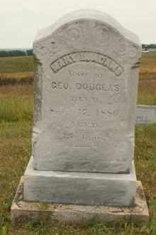 ADAMS DOUGLAS, MARY L - Cedar County, Nebraska | MARY L ADAMS DOUGLAS - Nebraska Gravestone Photos