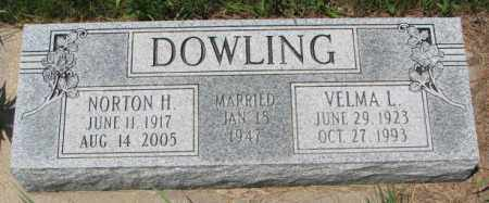 DOWLING, VELMA L. - Cedar County, Nebraska   VELMA L. DOWLING - Nebraska Gravestone Photos