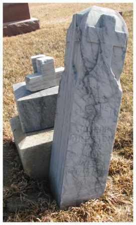 DREESEN, ELIZABETH - Cedar County, Nebraska | ELIZABETH DREESEN - Nebraska Gravestone Photos