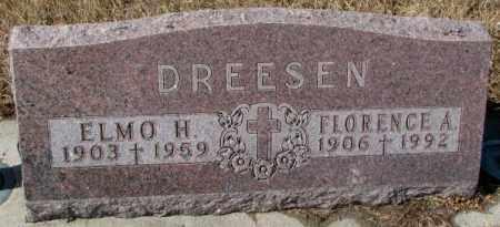 DREESEN, ELMO H. - Cedar County, Nebraska | ELMO H. DREESEN - Nebraska Gravestone Photos