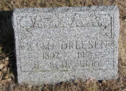 DREESEN, K.M. - Cedar County, Nebraska | K.M. DREESEN - Nebraska Gravestone Photos