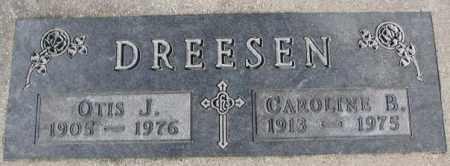 DREESEN, OTIS J. - Cedar County, Nebraska | OTIS J. DREESEN - Nebraska Gravestone Photos