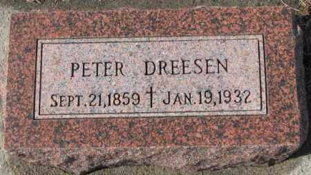 DREESEN, PETER - Cedar County, Nebraska   PETER DREESEN - Nebraska Gravestone Photos