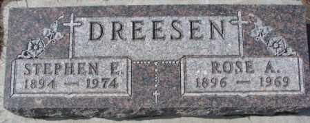 DREESEN, ROSE A. - Cedar County, Nebraska   ROSE A. DREESEN - Nebraska Gravestone Photos