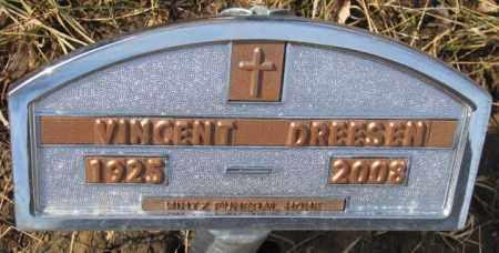 DREESEN, VINCENT - Cedar County, Nebraska   VINCENT DREESEN - Nebraska Gravestone Photos