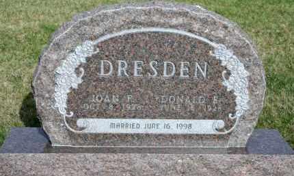 DRESDEN, DONALD E - Cedar County, Nebraska | DONALD E DRESDEN - Nebraska Gravestone Photos