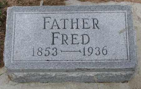 DRUHE, FRED - Cedar County, Nebraska   FRED DRUHE - Nebraska Gravestone Photos