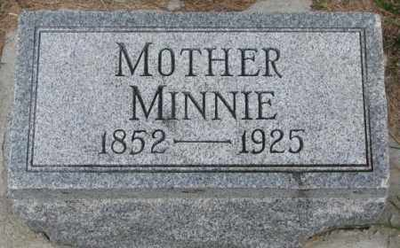 DRUHE, MINNIE - Cedar County, Nebraska | MINNIE DRUHE - Nebraska Gravestone Photos