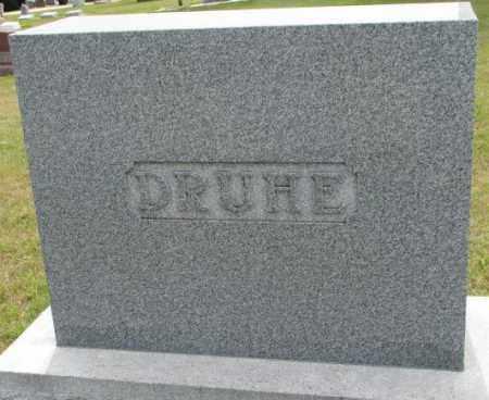 DRUHE, PLOT - Cedar County, Nebraska | PLOT DRUHE - Nebraska Gravestone Photos
