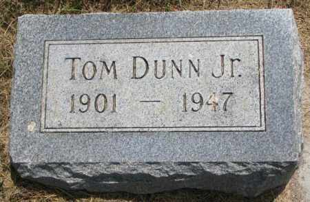 DUNN, TOM JR. - Cedar County, Nebraska | TOM JR. DUNN - Nebraska Gravestone Photos