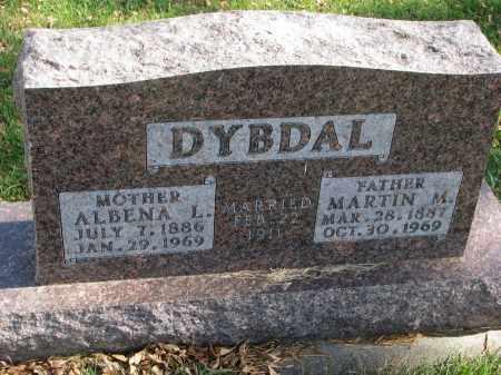 DYBDAL, ALBENA L. - Cedar County, Nebraska | ALBENA L. DYBDAL - Nebraska Gravestone Photos