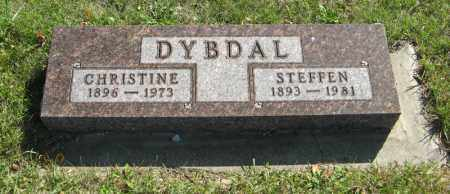 DYBDAL, CHRISTINE - Cedar County, Nebraska | CHRISTINE DYBDAL - Nebraska Gravestone Photos
