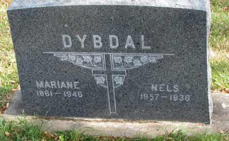 DYBDAL, NELS - Cedar County, Nebraska   NELS DYBDAL - Nebraska Gravestone Photos