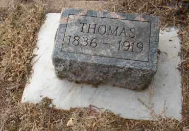 EBINGER, THOMAS - Cedar County, Nebraska | THOMAS EBINGER - Nebraska Gravestone Photos