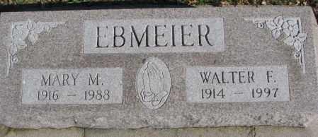 EBMEIER, MARY M. - Cedar County, Nebraska | MARY M. EBMEIER - Nebraska Gravestone Photos