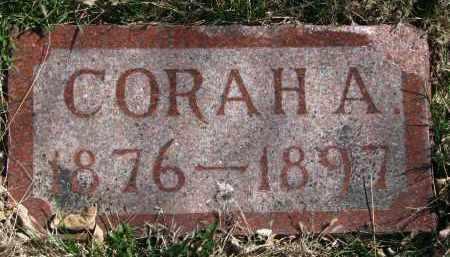 EBY, CORAH A. - Cedar County, Nebraska   CORAH A. EBY - Nebraska Gravestone Photos
