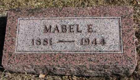 EBY, MABEL E. - Cedar County, Nebraska | MABEL E. EBY - Nebraska Gravestone Photos