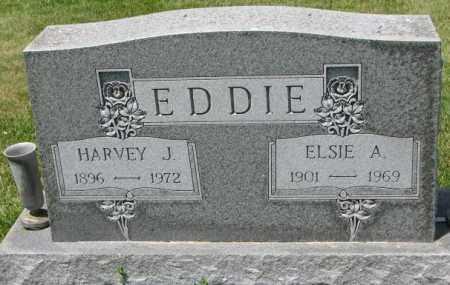 EDDIE, ELSIE A. - Cedar County, Nebraska | ELSIE A. EDDIE - Nebraska Gravestone Photos