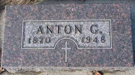EICKHOFF, ANTON G. - Cedar County, Nebraska | ANTON G. EICKHOFF - Nebraska Gravestone Photos