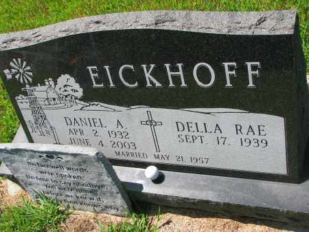 EICKHOFF, DANIEL A. - Cedar County, Nebraska | DANIEL A. EICKHOFF - Nebraska Gravestone Photos
