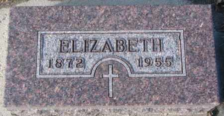 EICKHOFF, ELIZABETH - Cedar County, Nebraska   ELIZABETH EICKHOFF - Nebraska Gravestone Photos