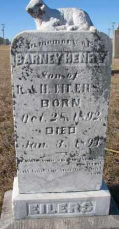 EILERS, BARNEY HENRY - Cedar County, Nebraska | BARNEY HENRY EILERS - Nebraska Gravestone Photos